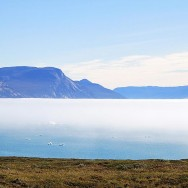 fog over the fjord